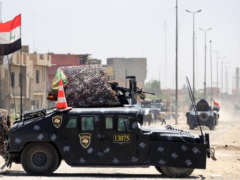 Irakische Armee zieht den Ring immer enger
