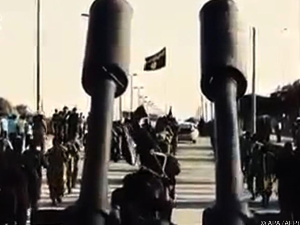 IS-Truppen sind eingeschlossen
