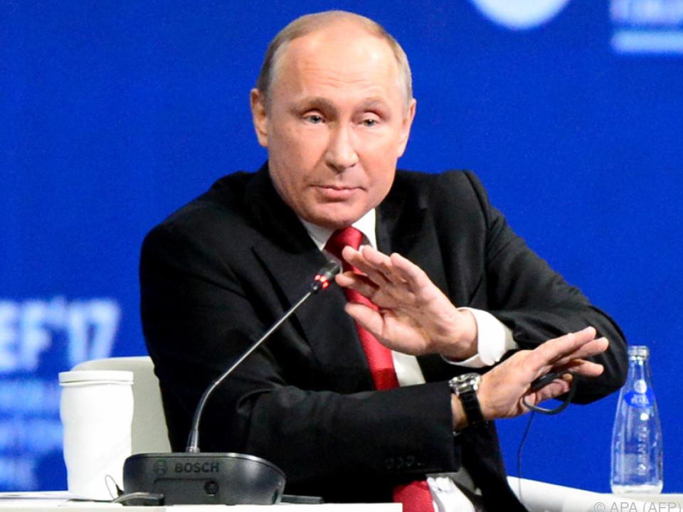 Putin: Haben Sie alle Ihren Verstand verloren?