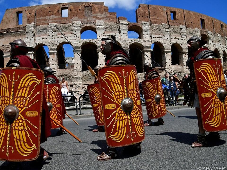 Italiener sind heikel, was das Römische Imperium betrifft