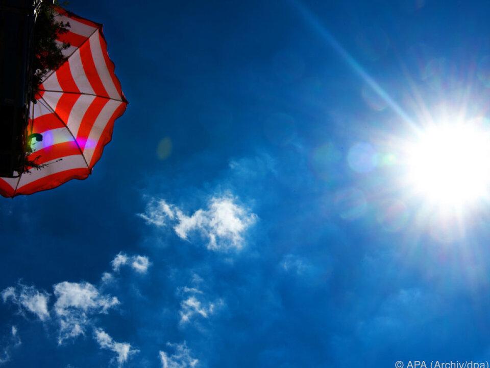 Keine Konzessionen für Aufstellen von Schirmen