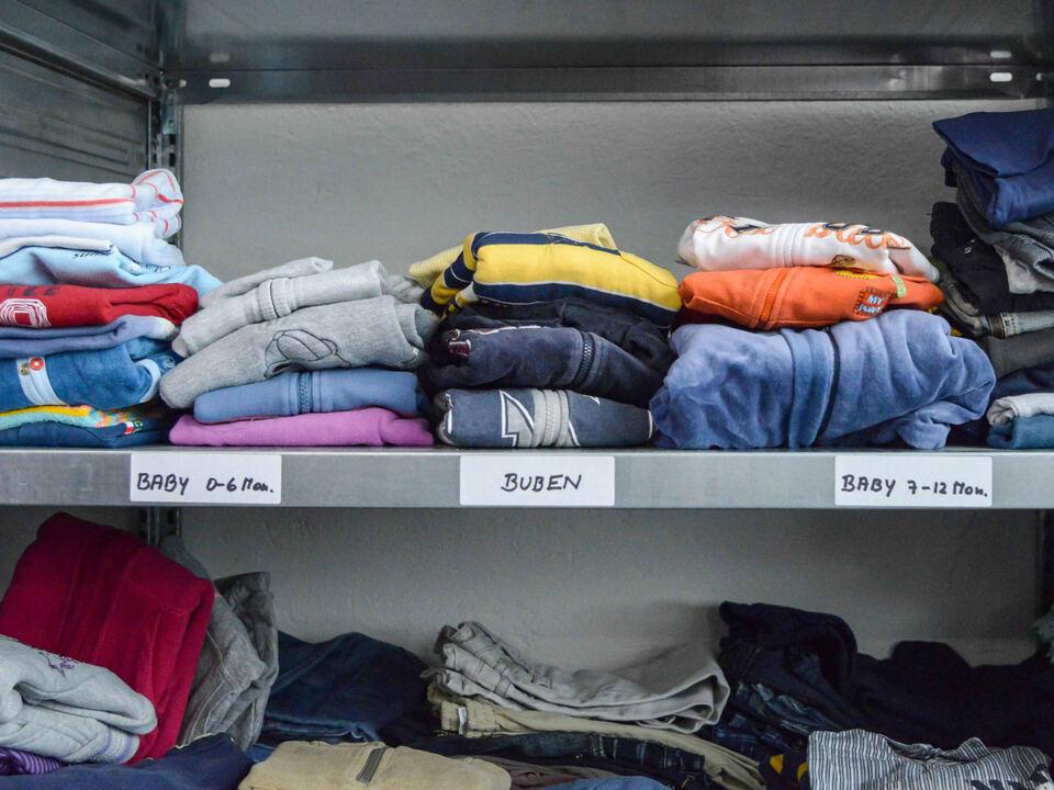 Kleiderkammer/Kleiderspenden