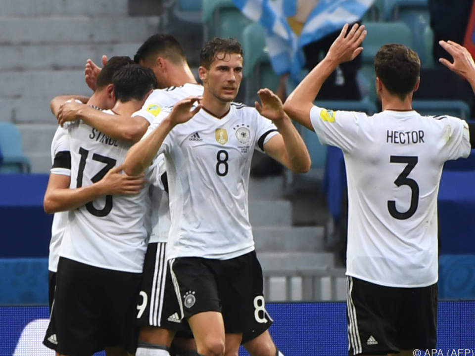 Knapper Sieg für zweite DFB-Garnitur