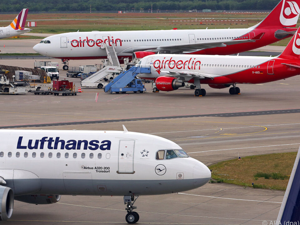 Lufthansa bekundete Interesse an Air Berlin