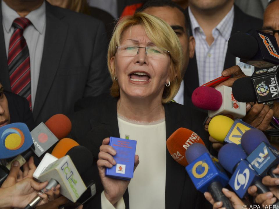 Luisa Ortega droht die Absetzung
