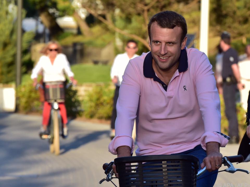 Klare absolute Mehrheit für Macron