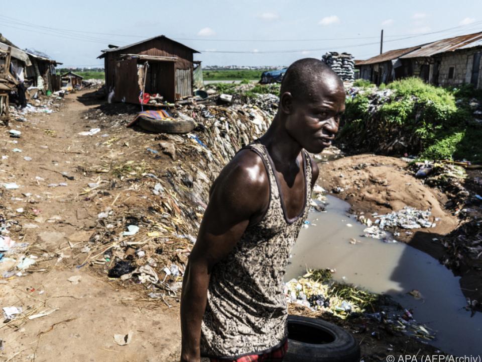 Menschen in Nigeria leben in extremer Not
