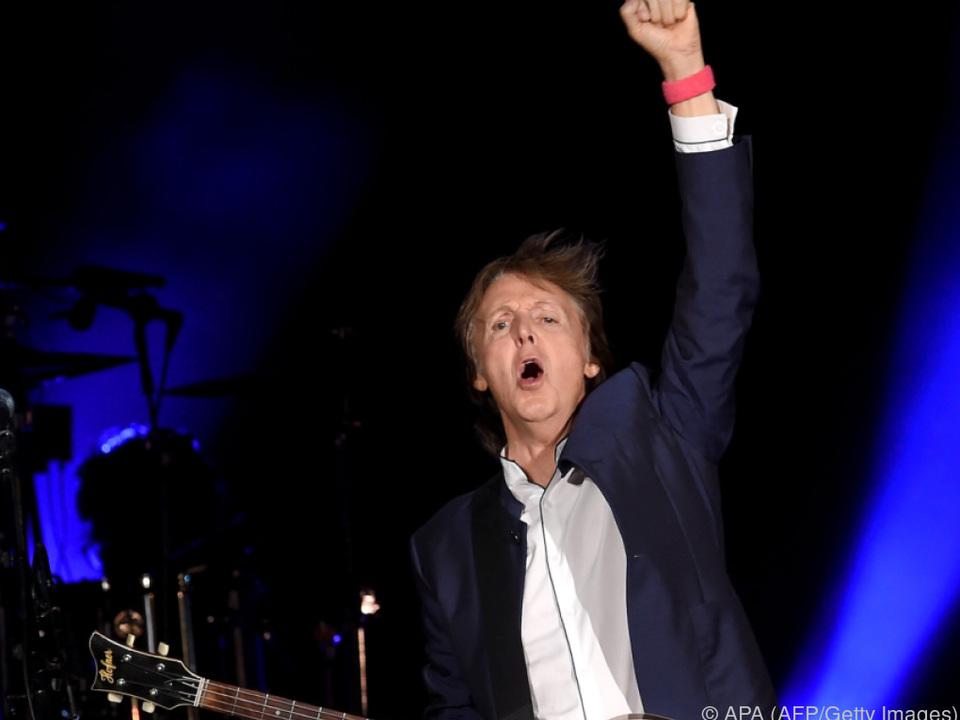 Mit 80 will McCartney dann nicht mehr touren