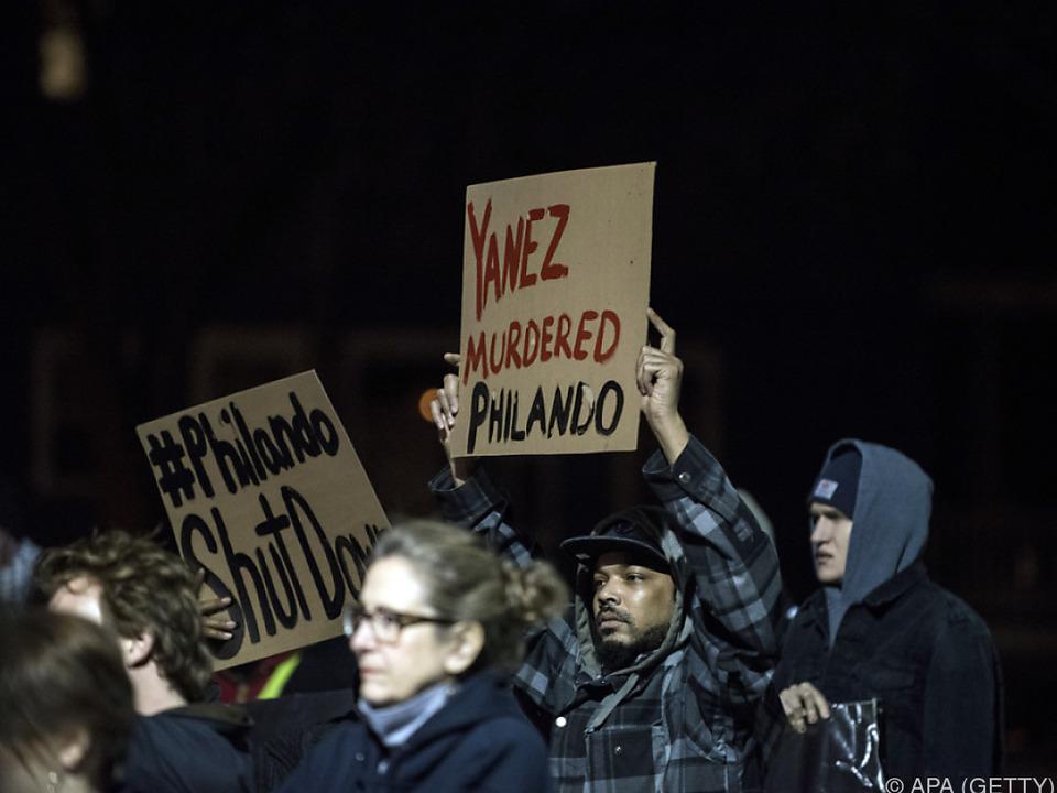 Nach dem Tod des Mannes hatte es Proteste gegeben