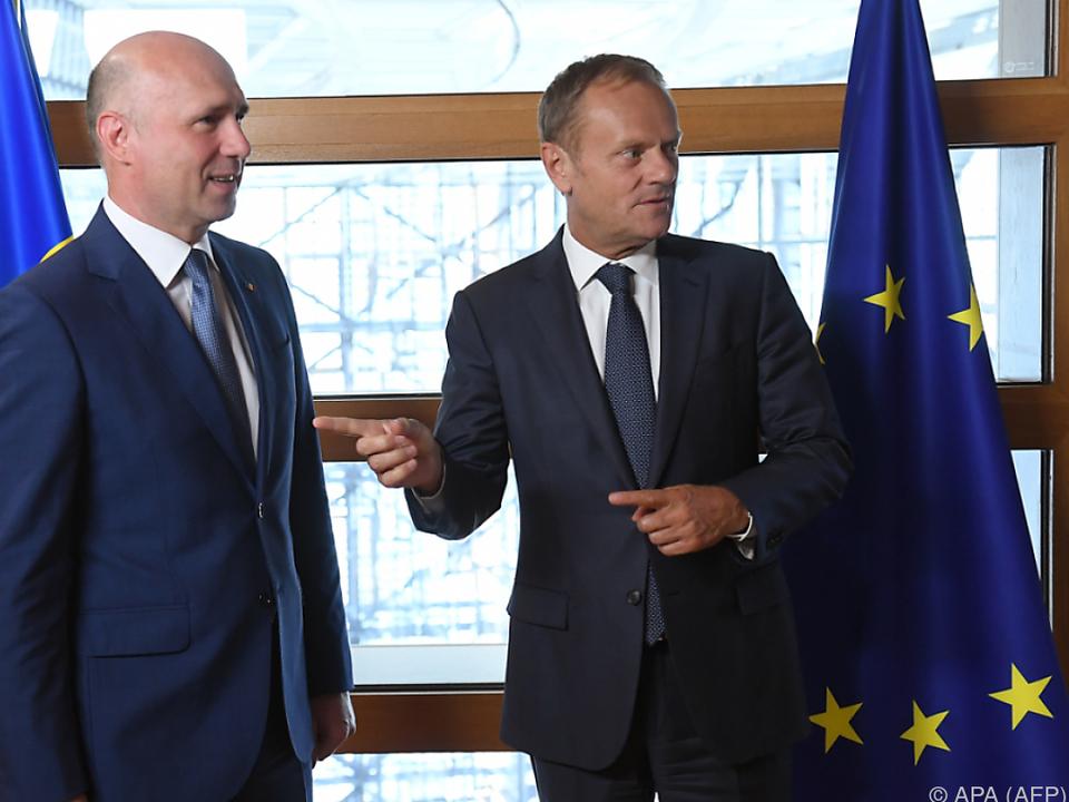 Nach Krisen sieht Tusk die EU wieder mit mehr Optimismus ausgestattet