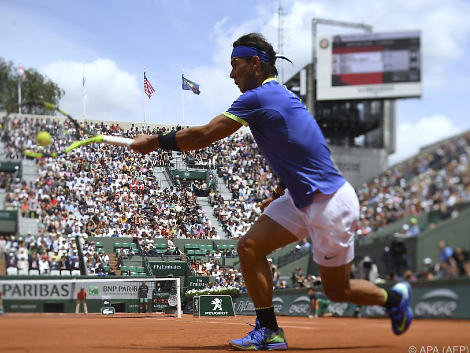 Nadal gab gegen seinen Landsmann nur fünf Games ab