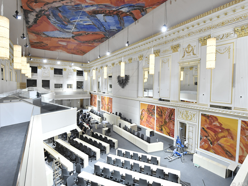 National- und Bundesrat weicht für drei Jahre in die Hofburg aus