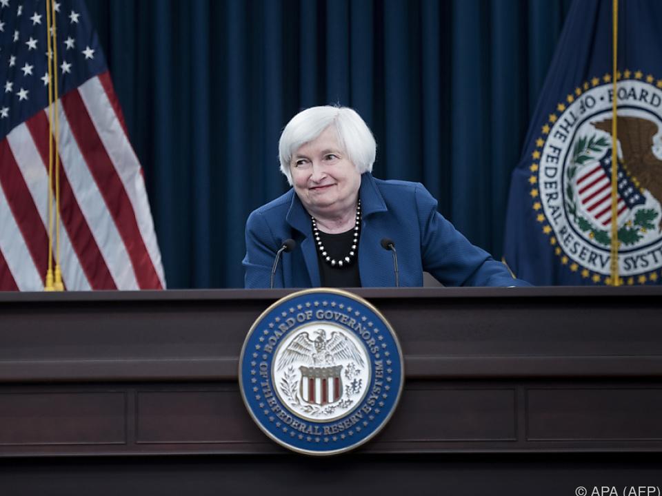 Neue Hinweise auf Zeitplan von Fed-Chefin Janet Yellen erwartet