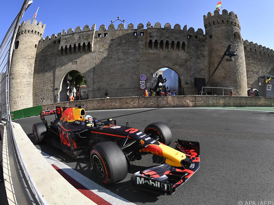 Nutznießer der vielen Unterbrechungen war Daniel Ricciardo