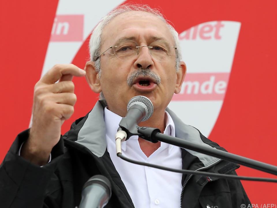 Oppositionsführer Kilicdaroglu führt Marsch von Ankara nach Istanbul an