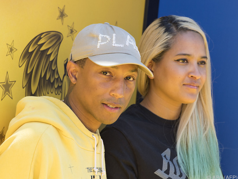 Pharrell Williams und seine Frau Helen Lasichanh