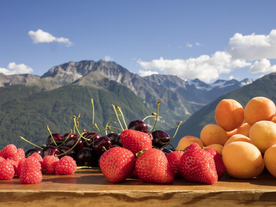 erdbeeren südtirol marillen kirschen