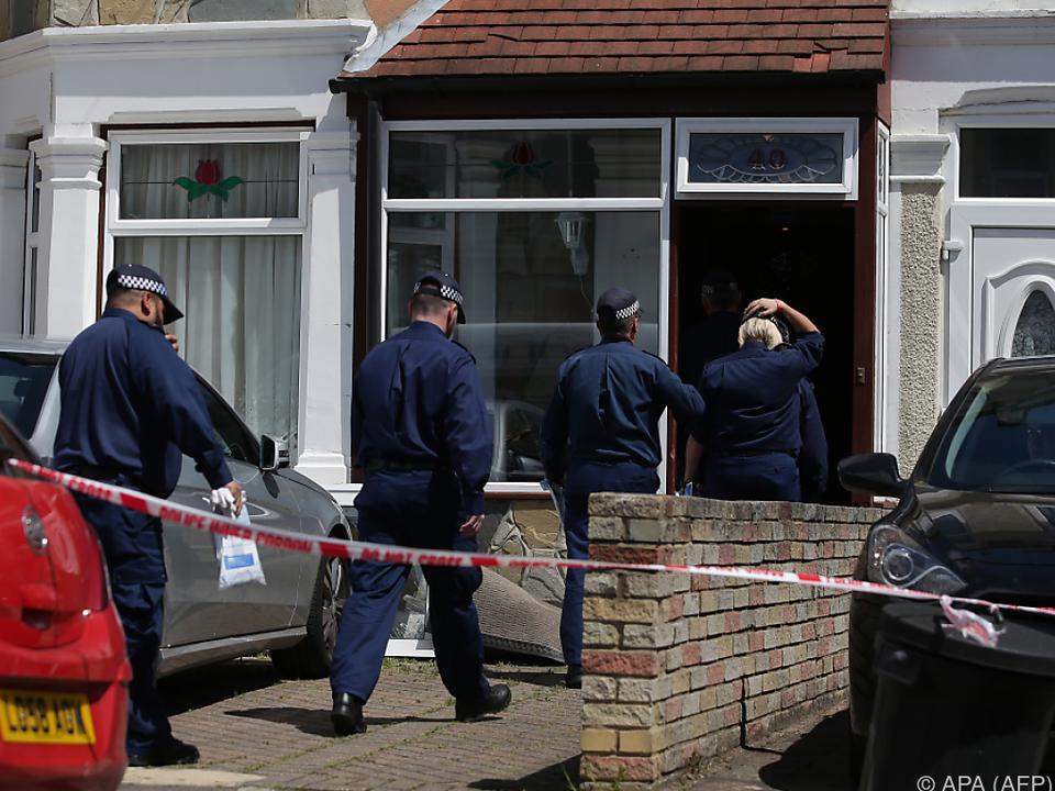 Polizeieinsatz im Stadtteil Ilford