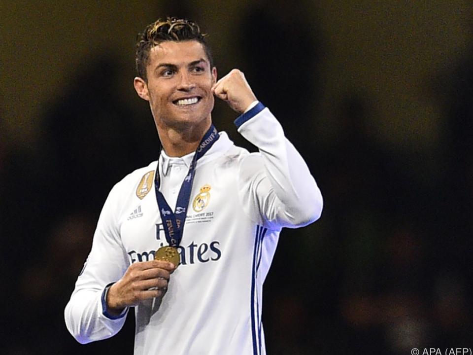 Ronaldo führte die Wertung auch im Vorjahr an