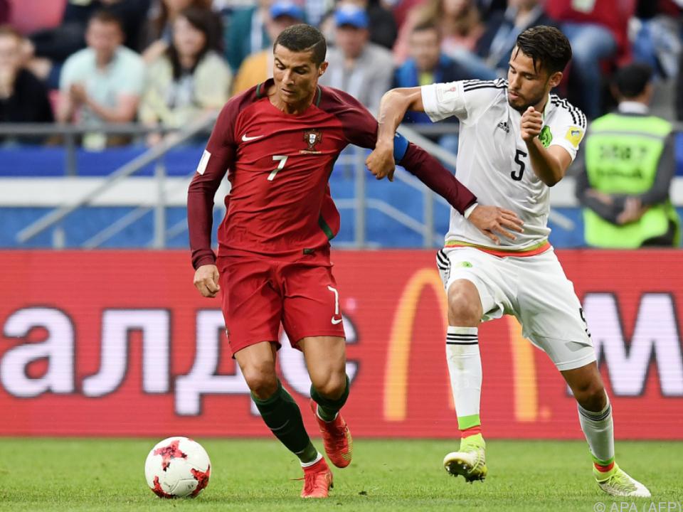Ronaldo gelang eine sehenswerte Vorlage zum 1:0