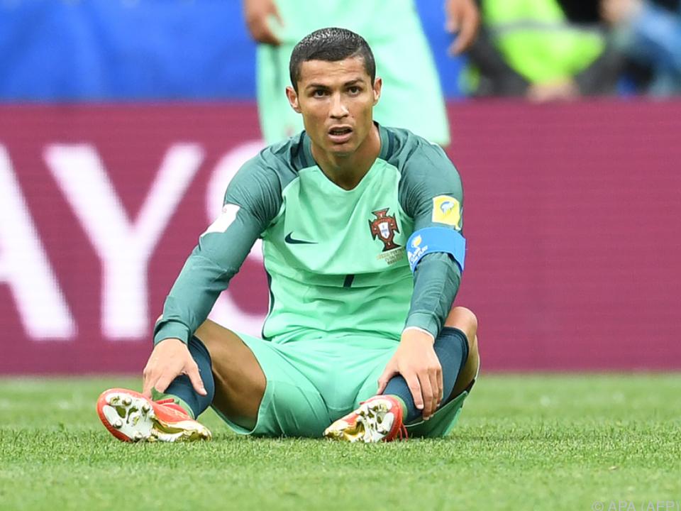 Ronaldo gesteht mit Geste aber keine Schuld ein