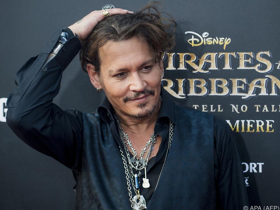 Rosenkrieg mit Amber Heard setzte Depp zu