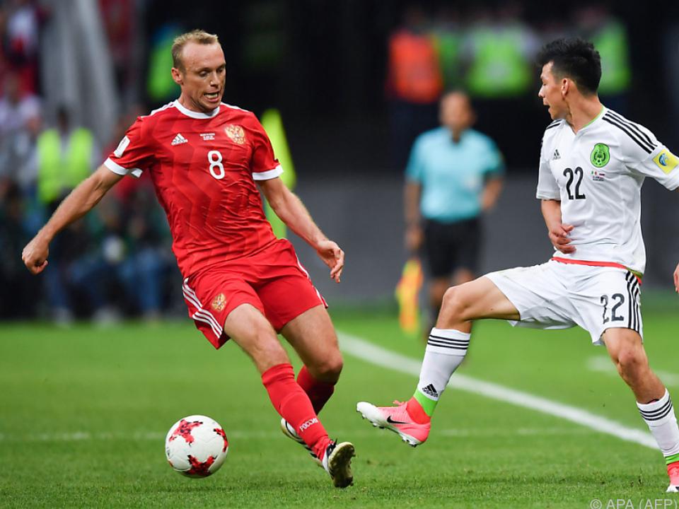Russland musste sich aus dem Turnier verabschieden
