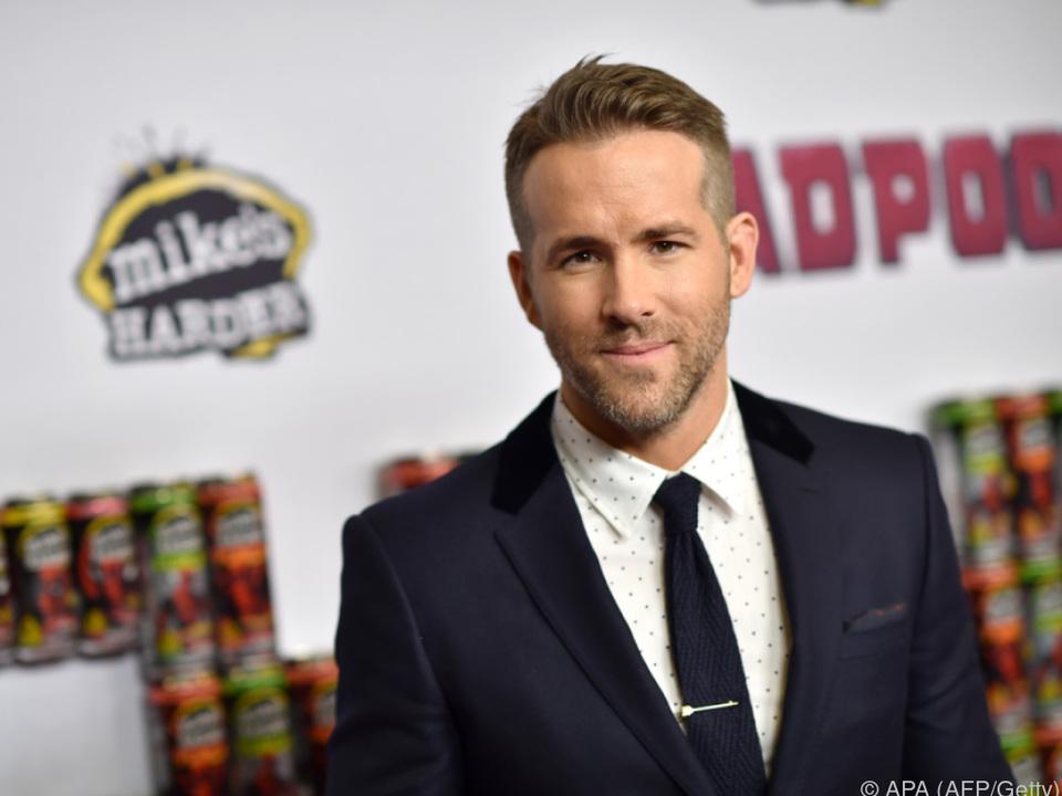 Ryan Reynolds schlüpft wieder in die Rolle des Antihelden