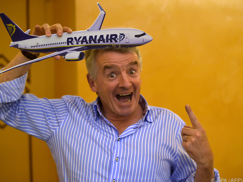 Ryanair-Chef O\'Leary hat Interesse an Alitalia