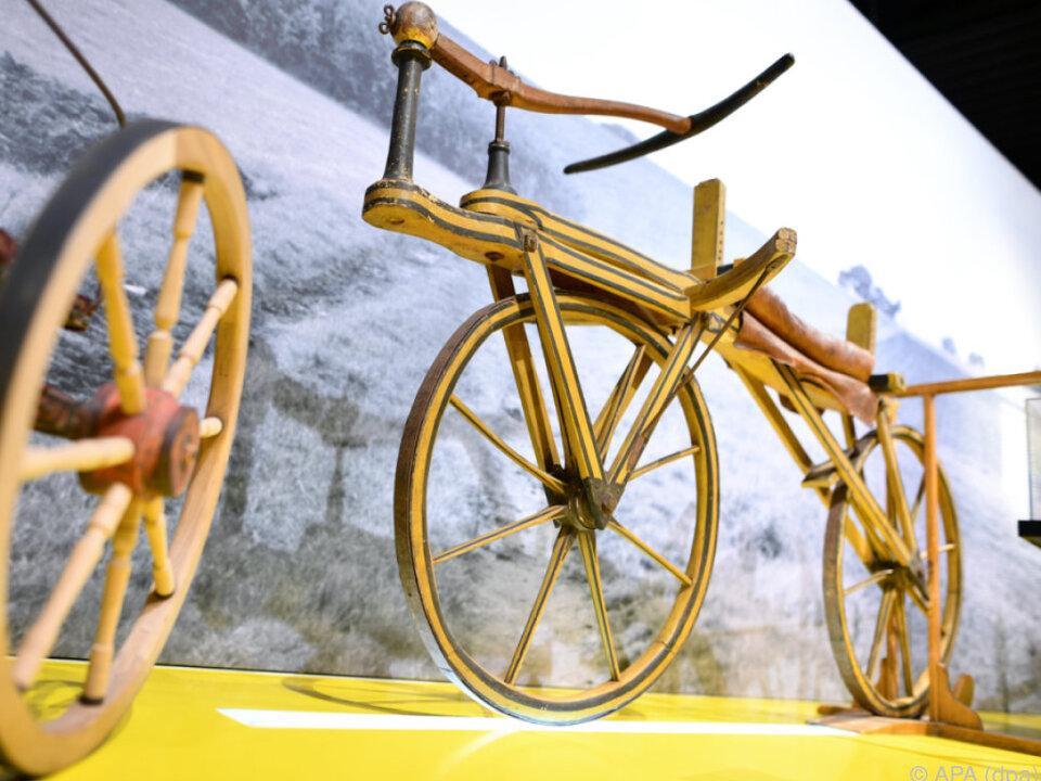 Seit der Erfindung von Drais hat sich auf dem Fahrradsektor viel getan