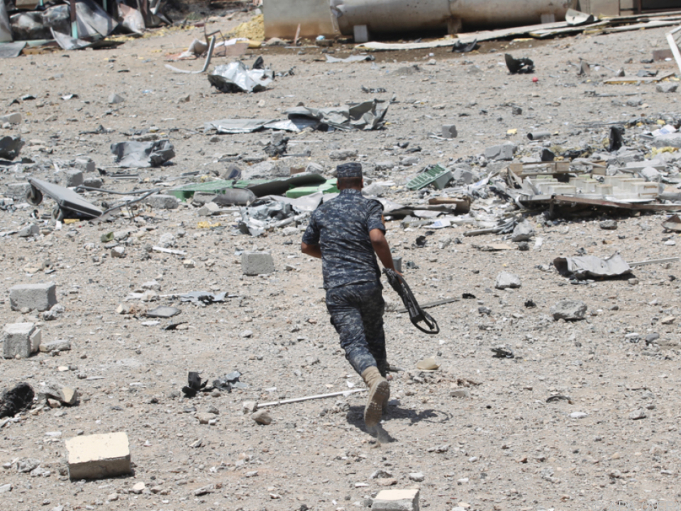 Irakische Armee beginnt Erstürmung der Altstadt von Mossul class=