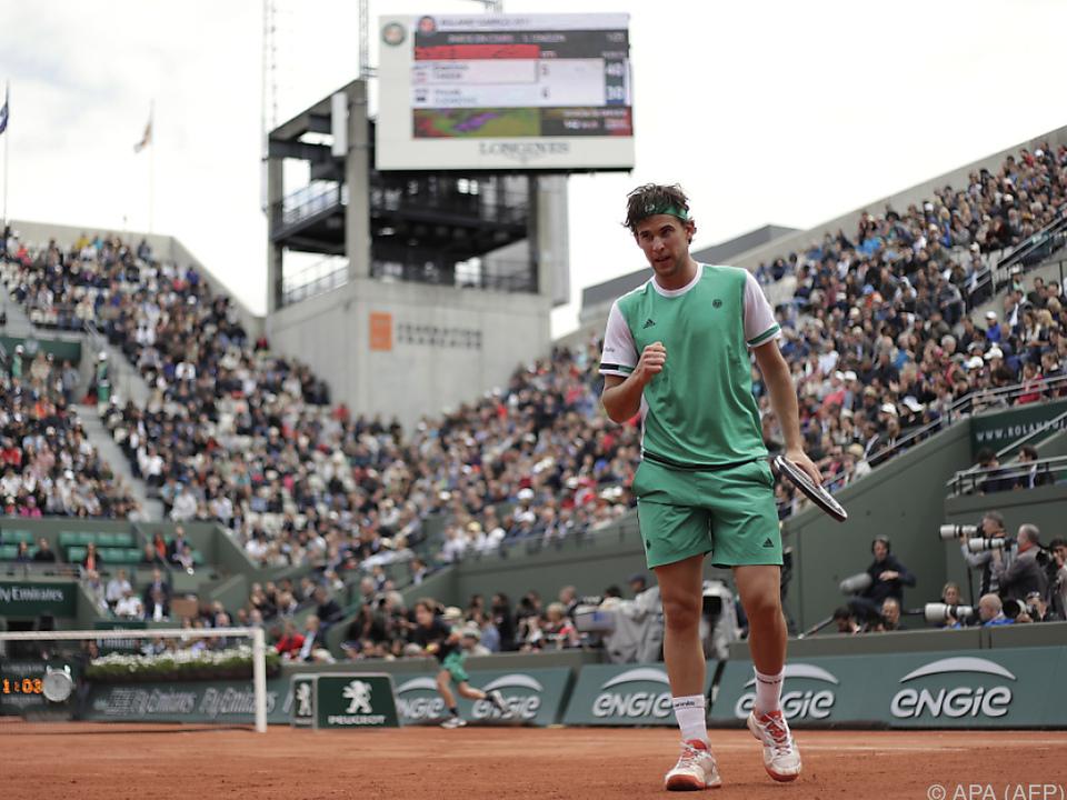 6:0 im dritten Satz! Thiem fegte Djokovic vom Platz