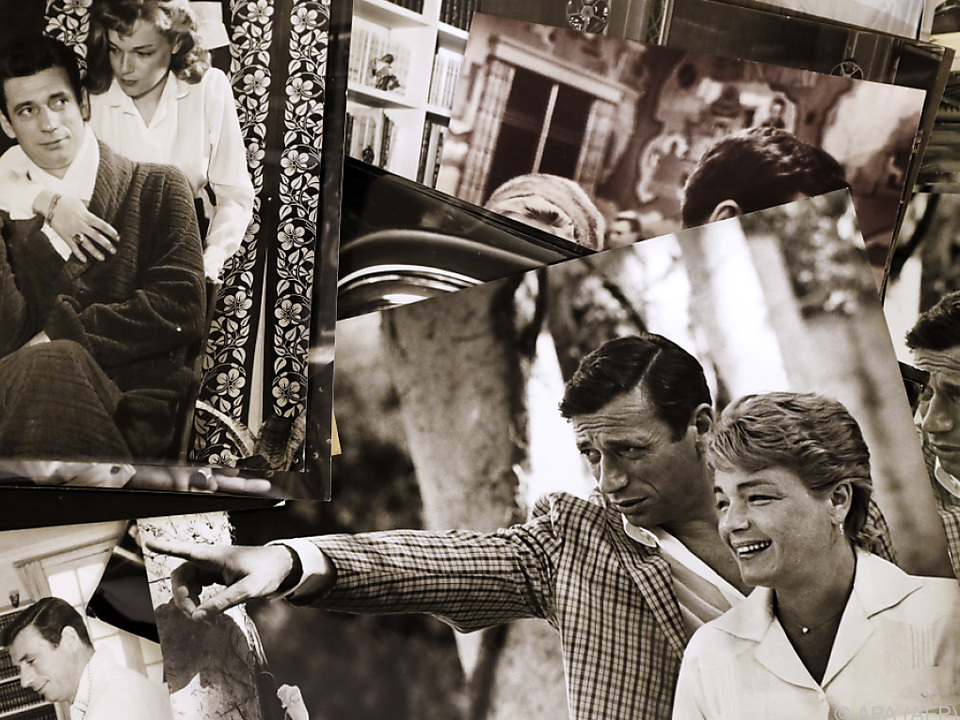 Simone Signoret und Yves Montand waren rund 35 Jahre lang ein Paar