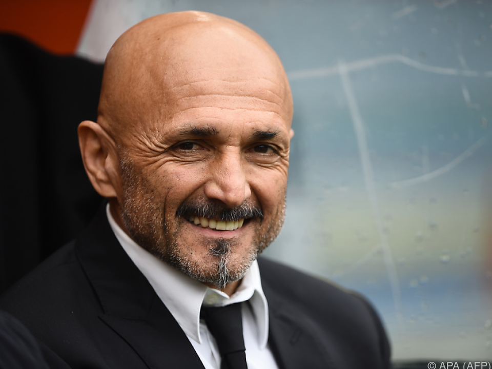 Spalletti wurde zuletzt Zweiter mit AS Roma