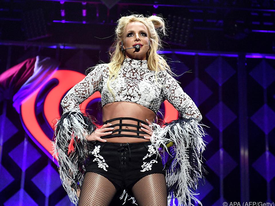 Spears landete mit ihrem Hit \