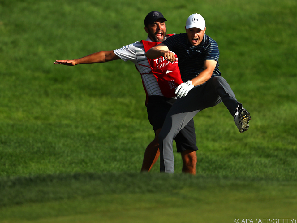 Spieth nach zehntem PGA-Turniersieg auf Woods' Spuren
