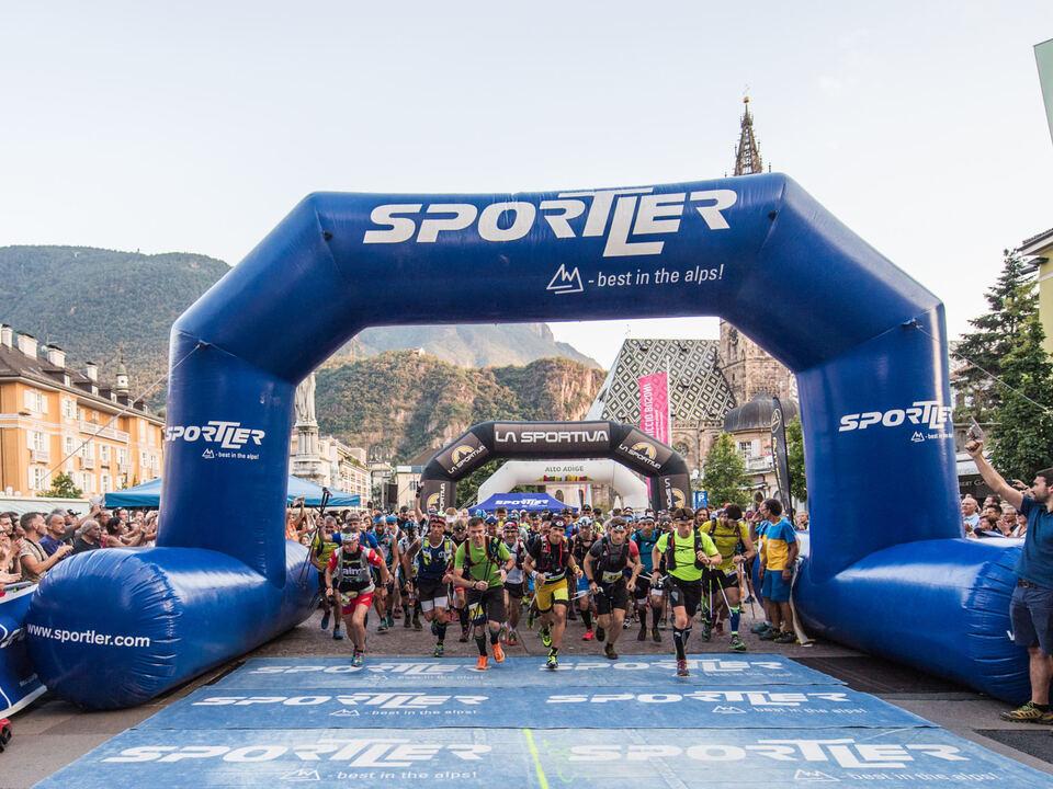 Südtirol Ultra Skyrace Start