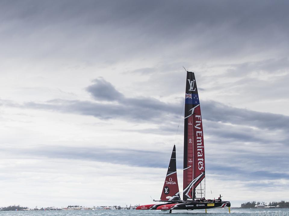 Team Neuseeland will den America\'s Cup zurückerobern