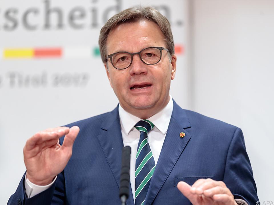 Tirols Landeshauptmann fordert rasche Umsetzung
