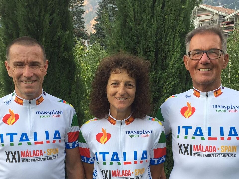 transplant-sportclub Thurner, Braun, Prenner