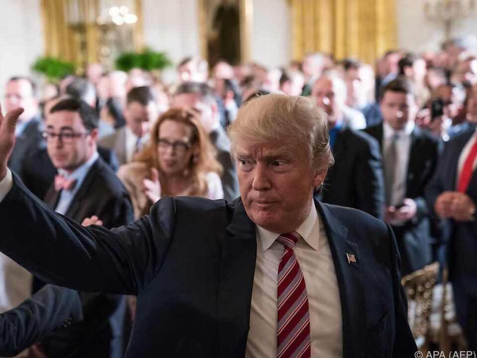 Trump lässt die Vergangenheit nicht los