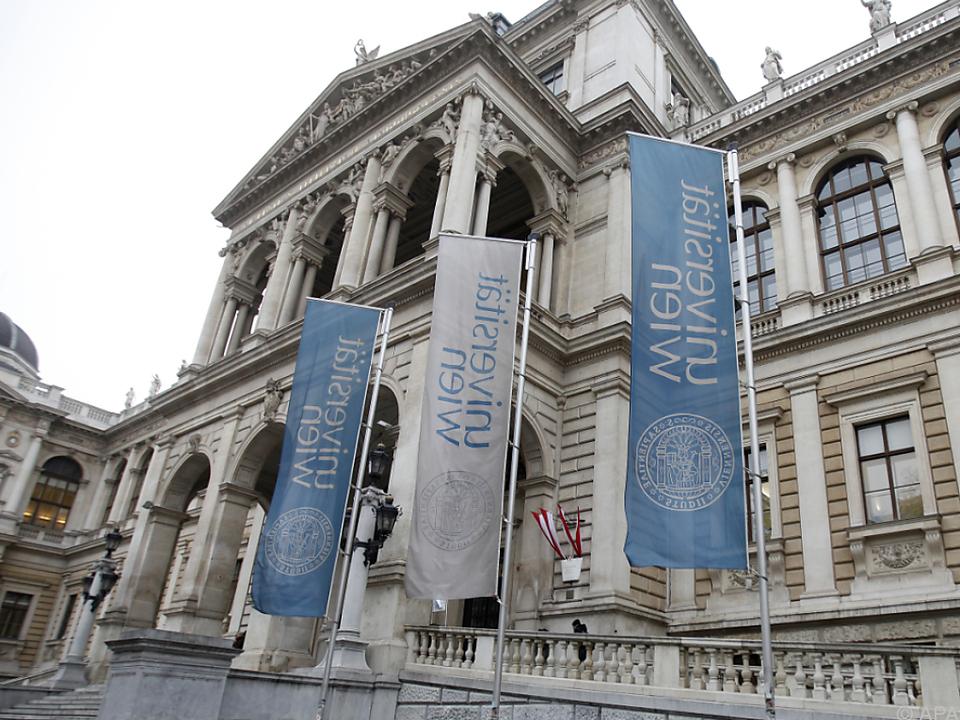 Universität Wien liegt an 154. Stelle