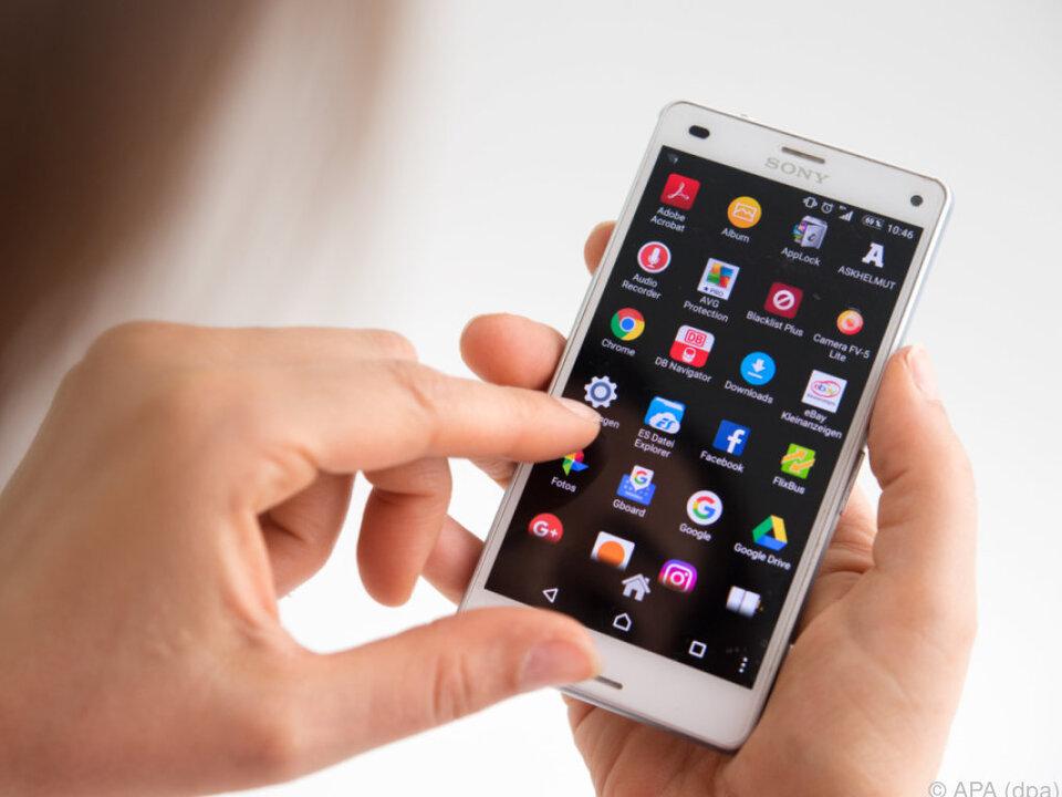 Unnötige Apps sollten Nutzer vom Handy löschen