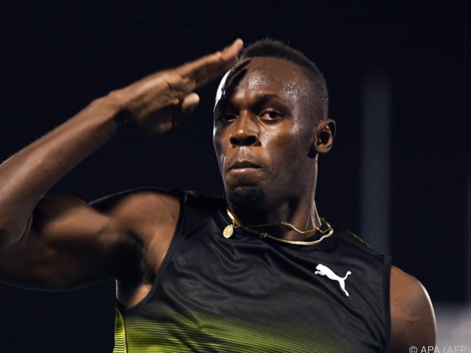 Usain Bolt tritt in Monaco an