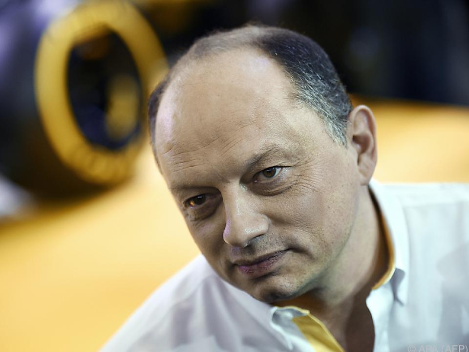 Vasseur war bereits bei Renault Teammanager