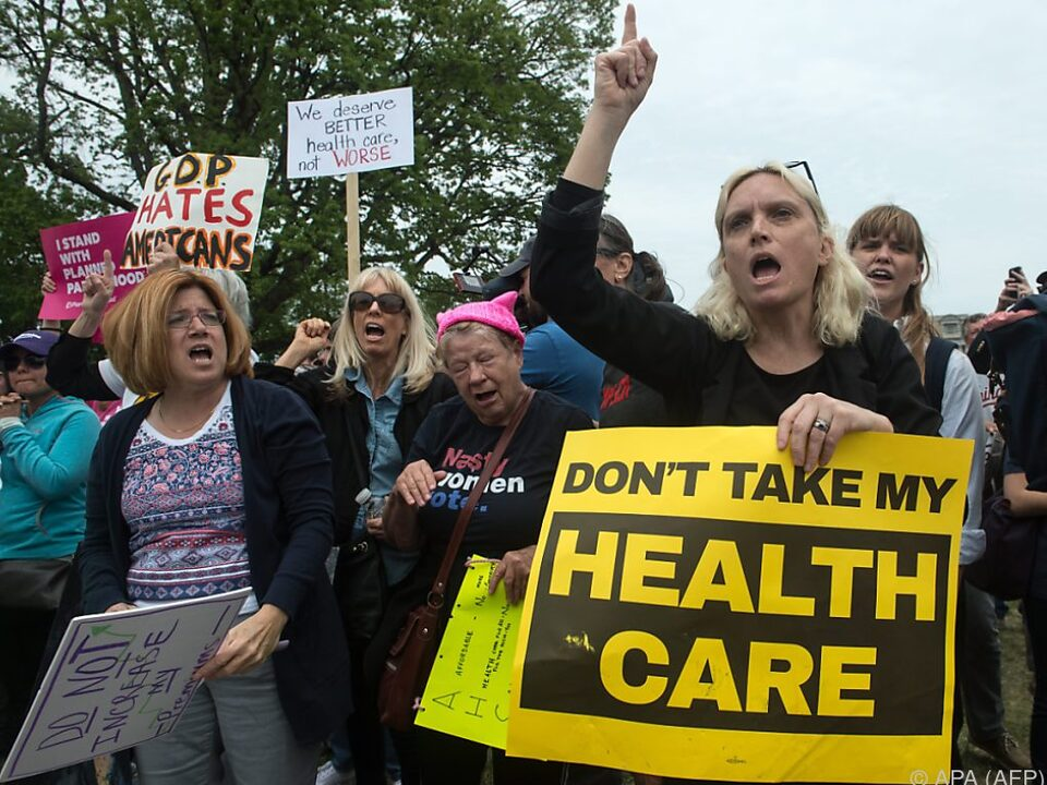Viele Amerikaner fürchten um ihre Gesundheitsversorgung