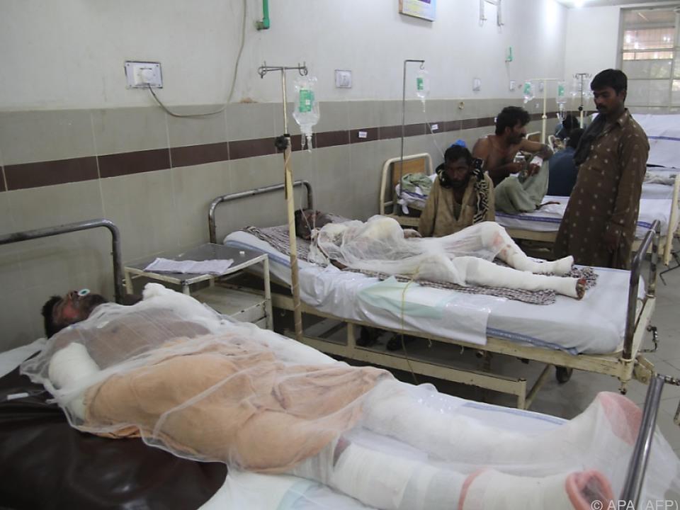 Viele Schwerverletzte liegen noch im Krankenhaus