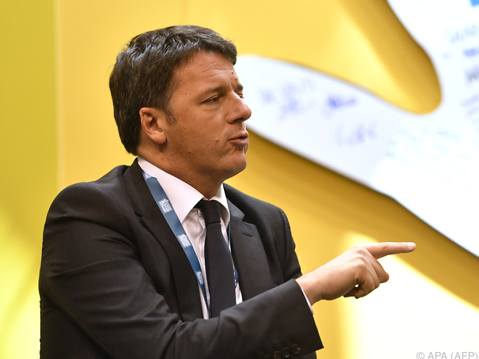 Wahlen sind ein Test für Matteo Renzi