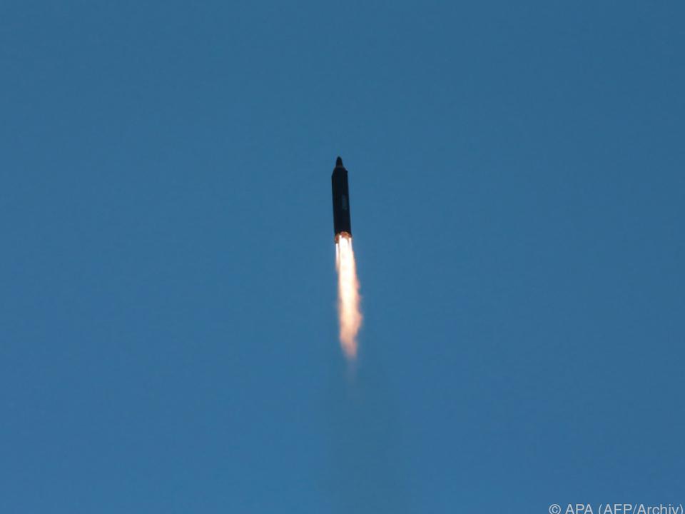 Wieder Raketentests in Nordkorea