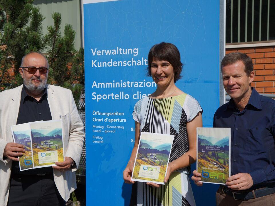 Wolfgang Plank/Petra Markart/Karl Michaeler/Stadtwerke Brixen